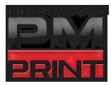 Логотип типографии ПМ-Принт
